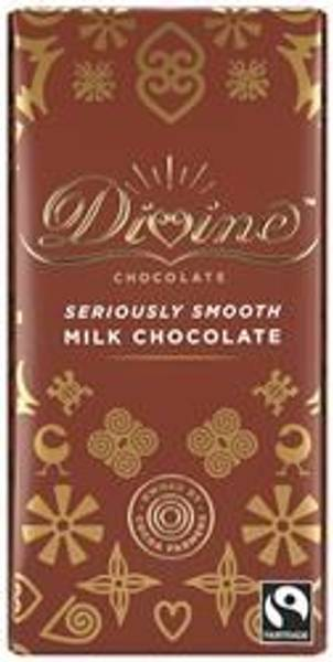 Bilde av Melkesjokolade 45%, 90g / Divine