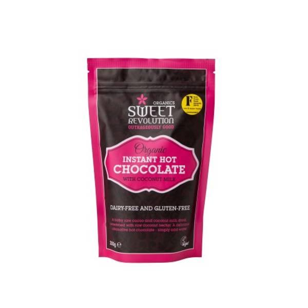 Bilde av Vegansk kakaopulver - Hot Chocolate 200g  / Sweet Revolution