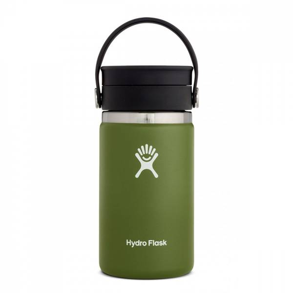 Bilde av Termokopp 354ml, OLIVE, Wide Mouth Flex Sip Lid / Hydro Flask