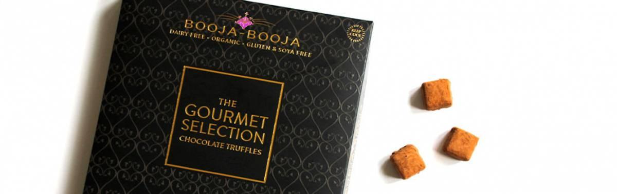 Veganske trøfler, The Gourmet Selection, 230g / Booja Booja