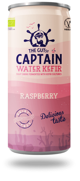 Bilde av Vannkefir Raspberry 330 ml / Captain Kombucha