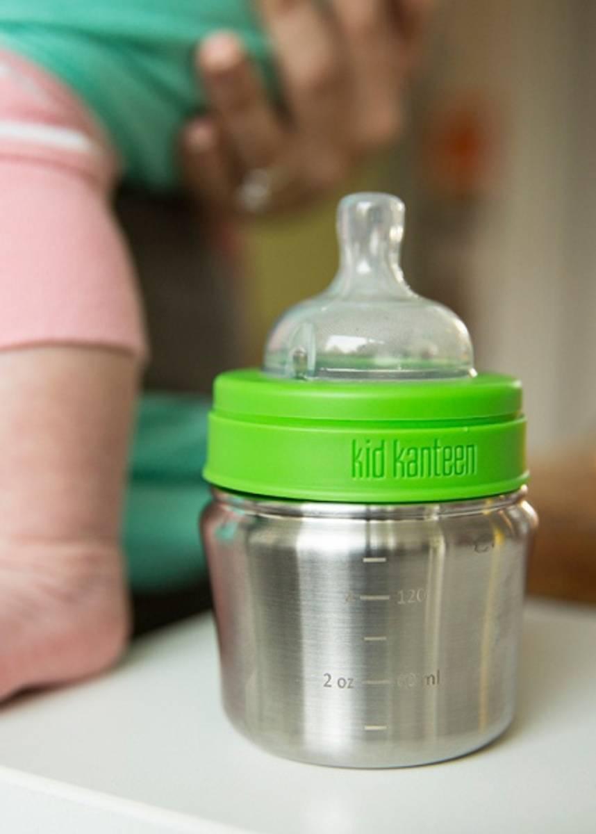 Kid kanteen tåteflaske 148 ml, rustfritt stål