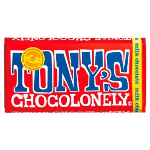 Bilde av Melkesjokolade 180g, Fair Trade / Tony´s Chocolonely
