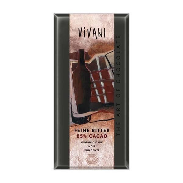 Bilde av 85% mørk sjokolade 100g / Vivani