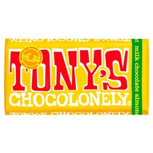 Bilde av Nougat, mandel & honning melkesjokolade 180g, Fair Trade / T
