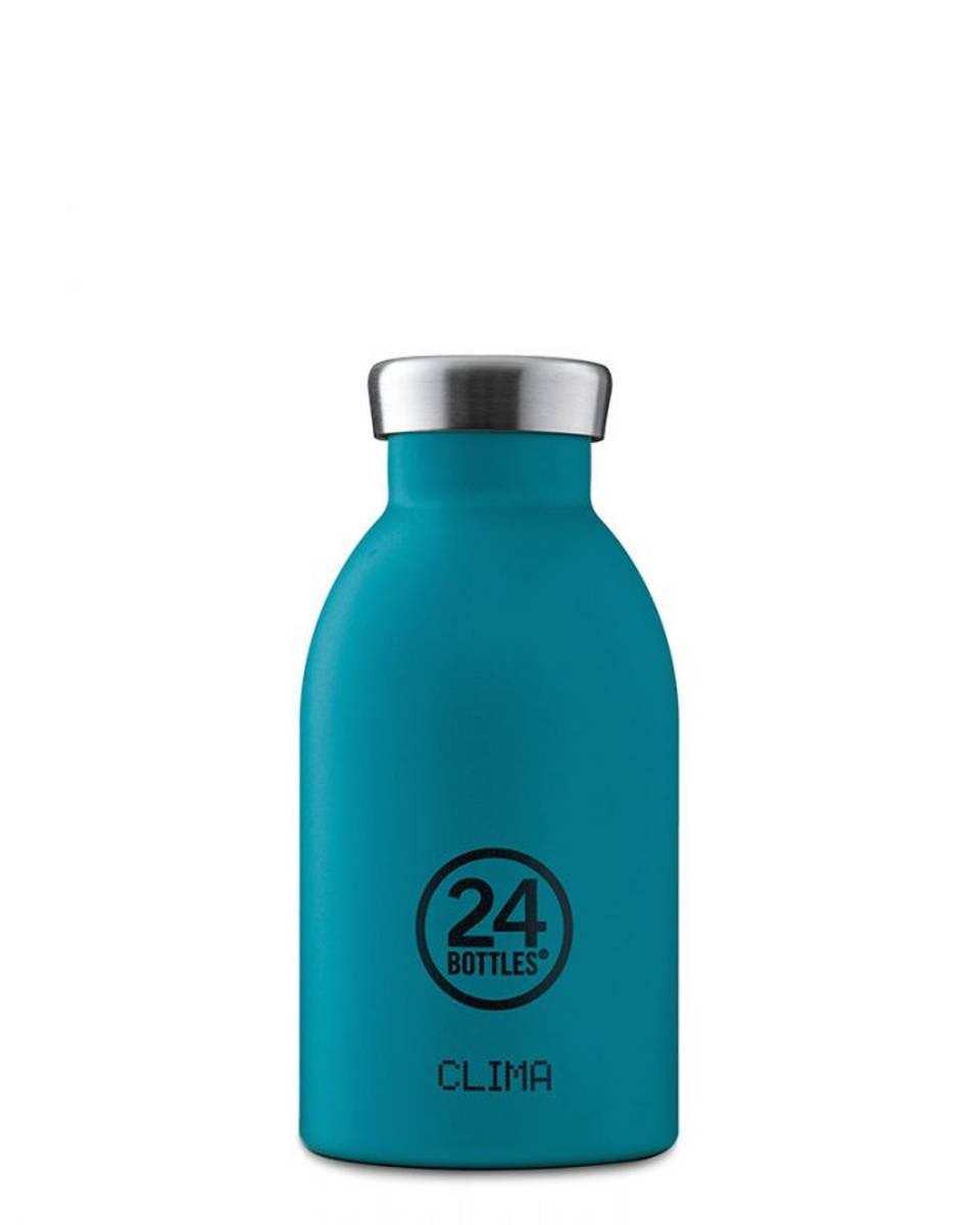 CLIMA 0.33L Isolert termoflaske Atlantic Bay / 24Bottles