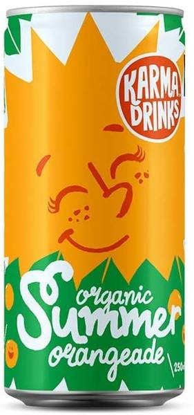 Bilde av Summer Orangeade 250 ml / Karma drinks