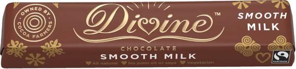 Bilde av Melkesjokolade 35 g / Divine