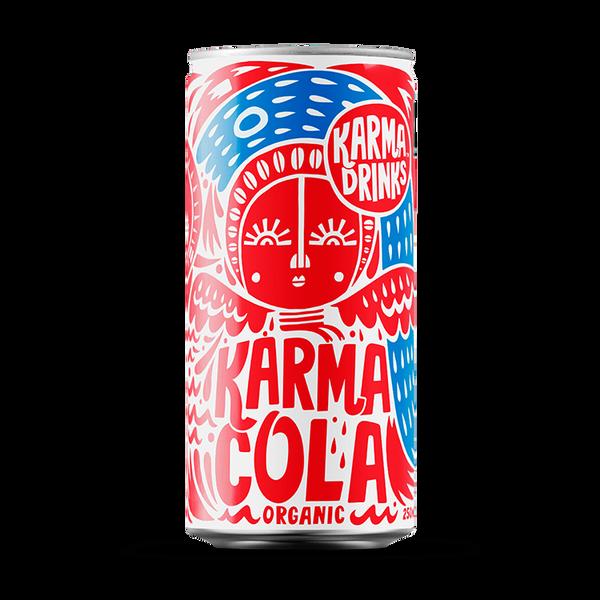 Bilde av Karma Cola 250 ml / økologisk og Fairtrade /Karma drinks