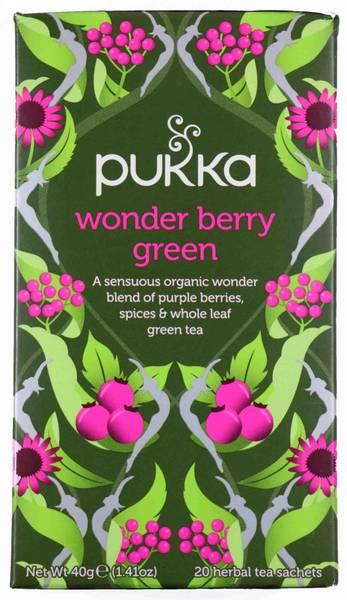 Bilde av Pukka Wonder Berry Green 20 teposer