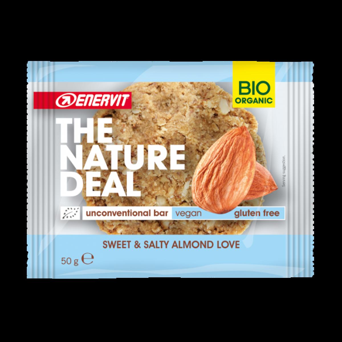 Økologisk cookie med søt og salt mandel 50g / Enervit - The Natu