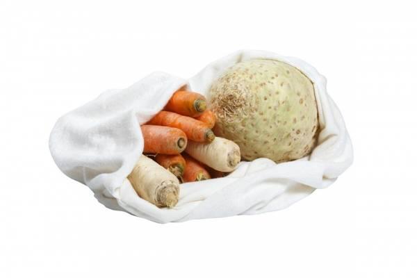 Bilde av Plastfri oppbevaringspose til grønnsaker, LARGE / Tierra Verde