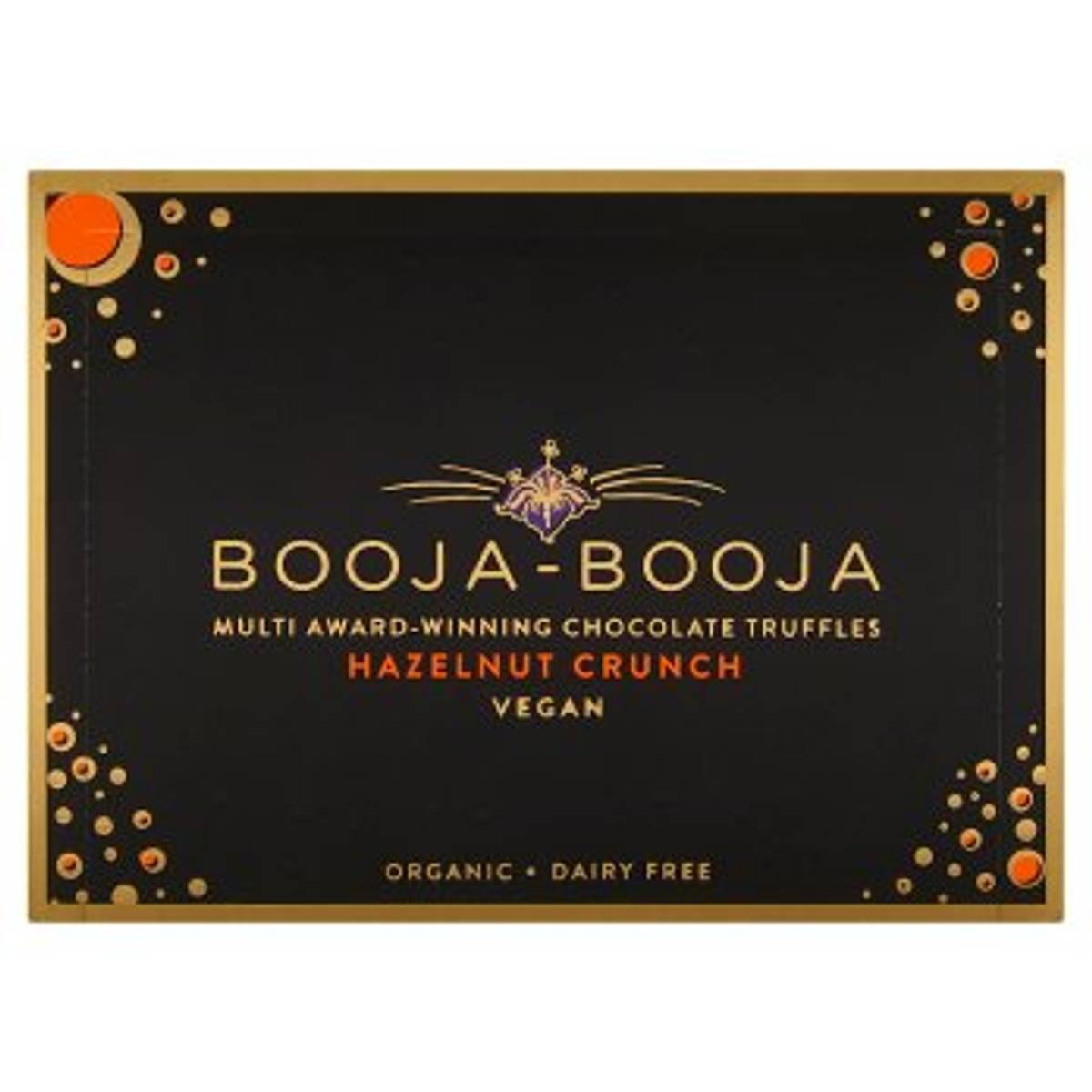 Veganske trøfler, Hasselnøtt Crunch 92g / Booja Booja