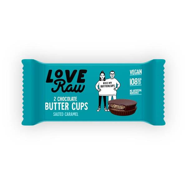 Bilde av Salted Caramel Butter Cups 34 g / LoveRaw