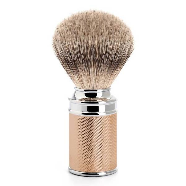 Bilde av Mühle Traditional Silvertip barberkost Rosegull