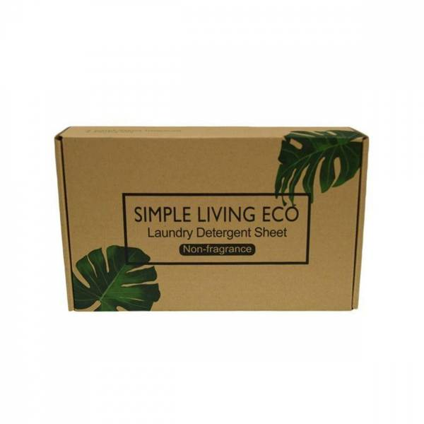 Bilde av 60 stk vaskeark, duftfri / simple Living Eco