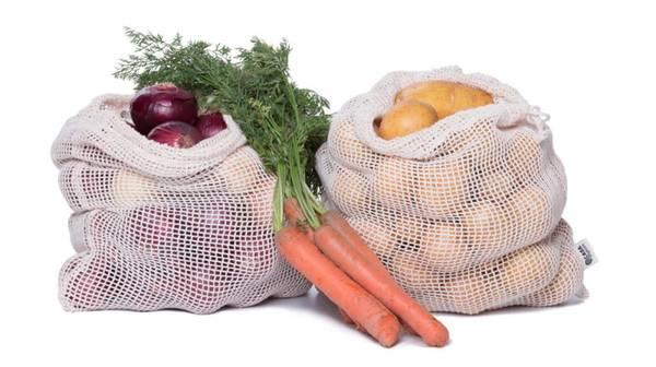 Bilde av Casa Organica nettingpose str. M i  økologisk bomull