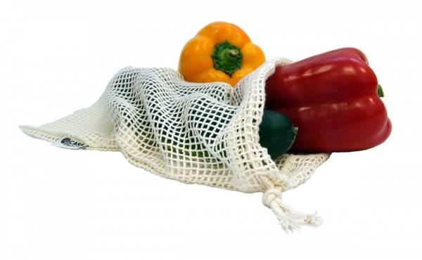 Bilde av Casa Organica nettingpose str. S i  økologisk bomull