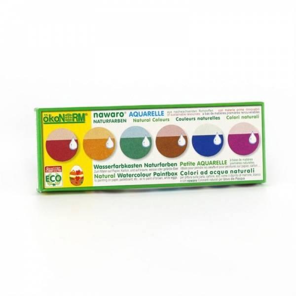 Bilde av 6 vannfarger, miljøvennlige og plantebaserte