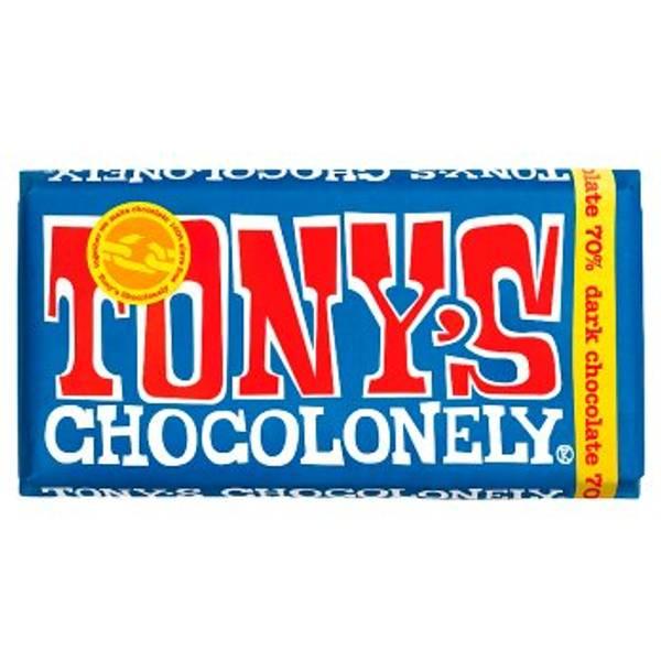 Bilde av Mørk sjokolade 180g, Fair Trade / Tony