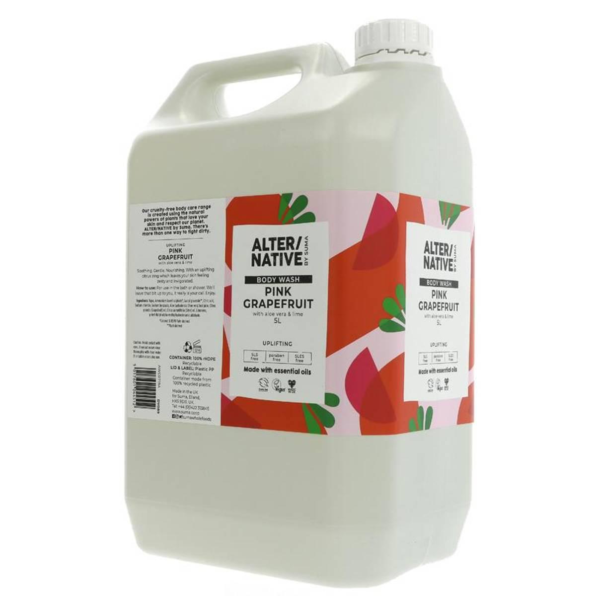 5L flytende dusjsåpe Pink Grapefruit Aloe / Alter/native