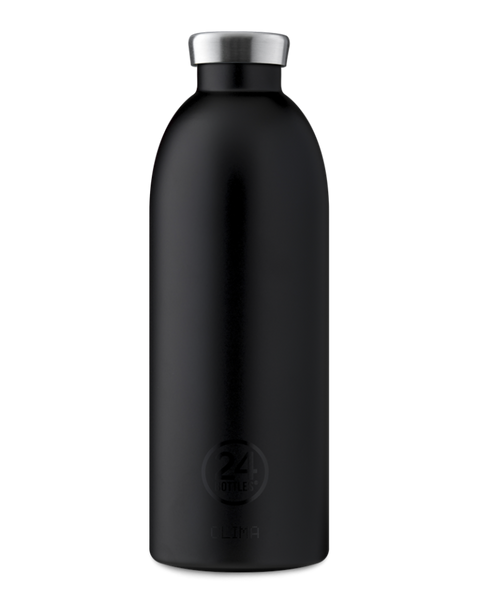 Bilde av CLIMA 0.85L Isoleret termoflaske  Tuxedo Black  / 24Bottles