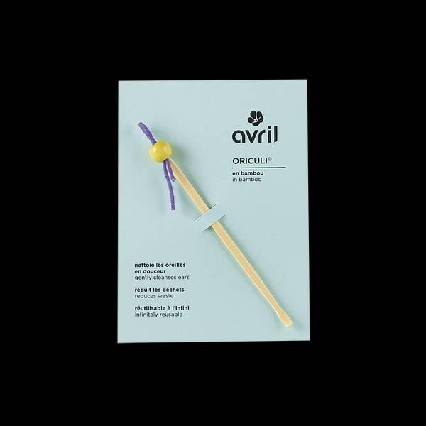 Bilde av Gjenbrukbar ørepinne i bambus / Avril Organic