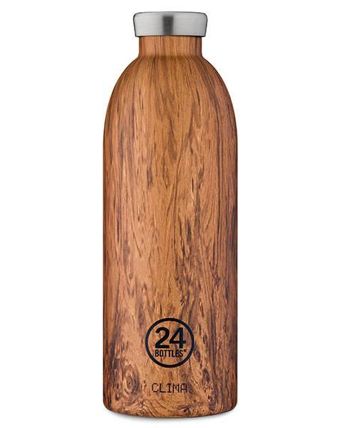 Bilde av CLIMA 0.85L Isolert termoflaske Sequioa Wood / 24Bottles