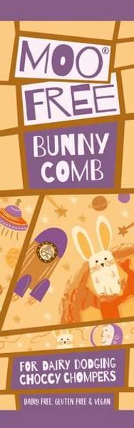 Bilde av Bunny Comb melkefri sjokolade 20g / Moo Free