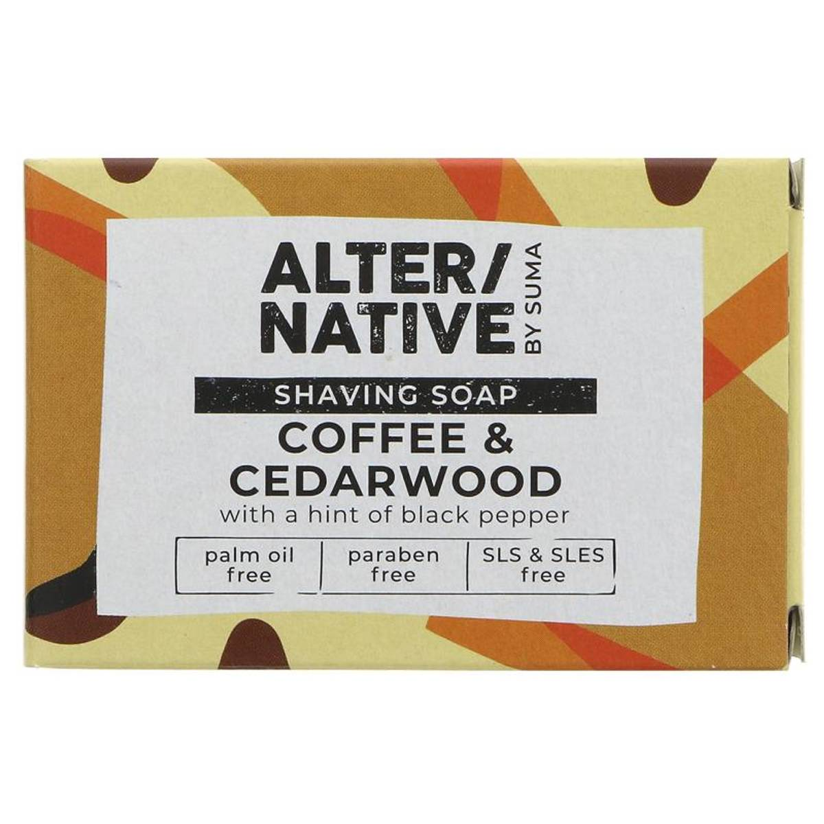 Barbersåpe Coffee & Cedarwood 95g / Alter/native