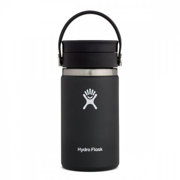 Bilde av Termokopp 354ml, BLACK, Wide Mouth Flex Sip Lid / Hydro Flask