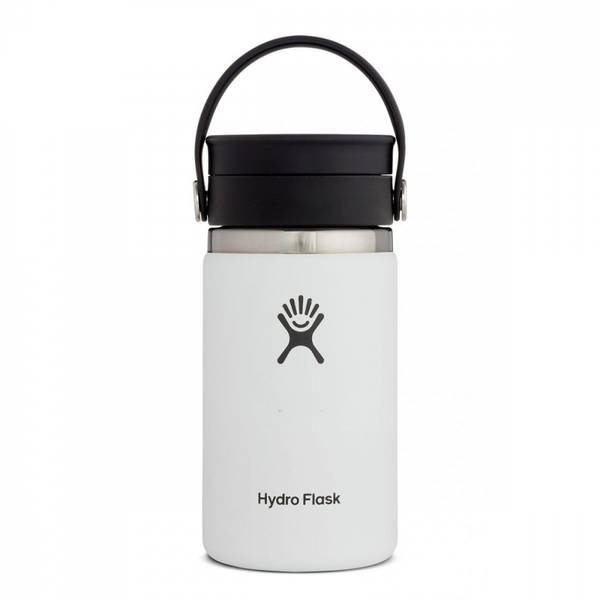 Bilde av Termokopp 354ml, WHITE, Wide Mouth Flex Sip Lid / Hydro Flask