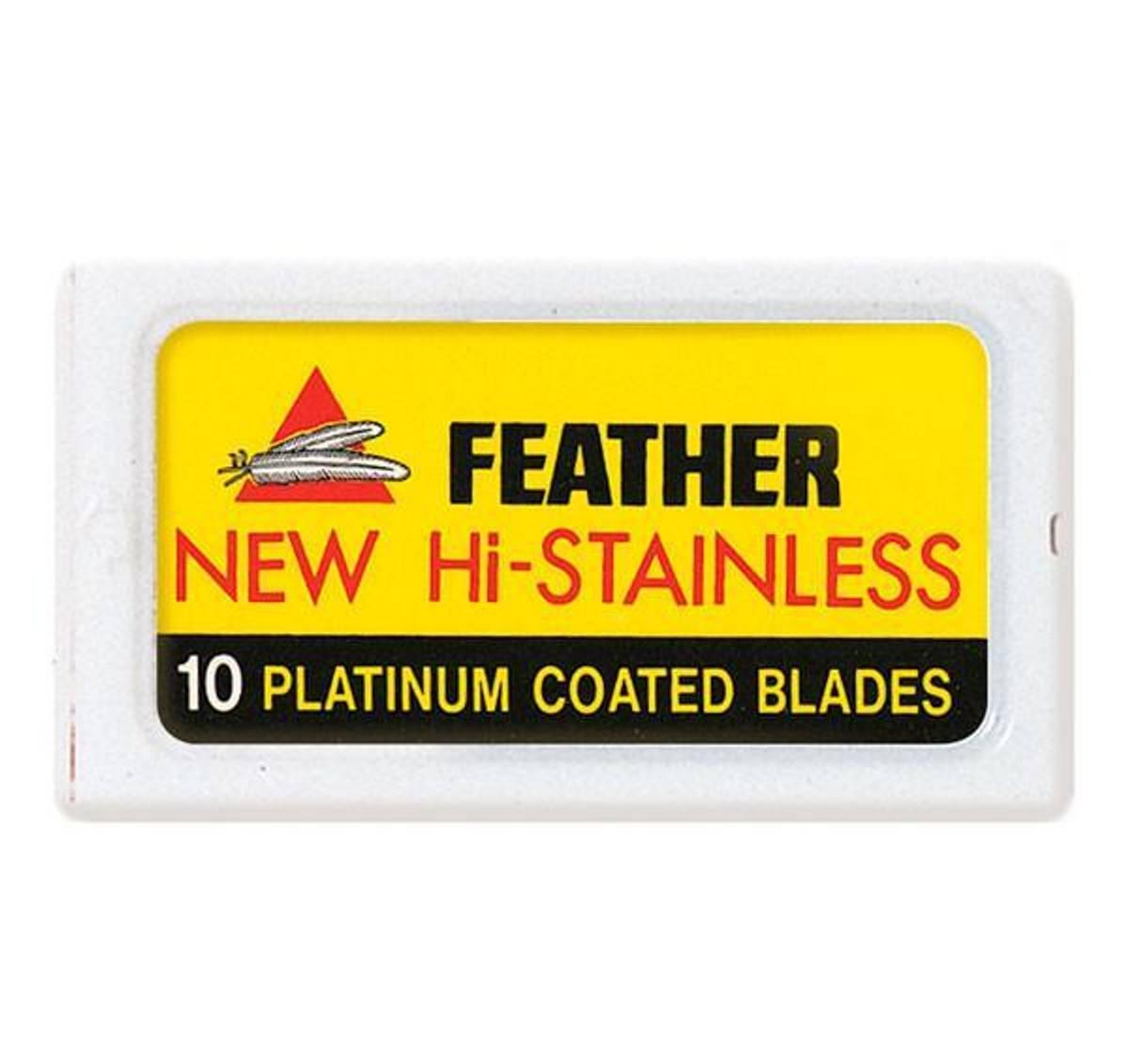 10-pk Feather barberblader