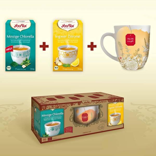 Bilde av Gavesett med tekopp og te / Yogi Tea