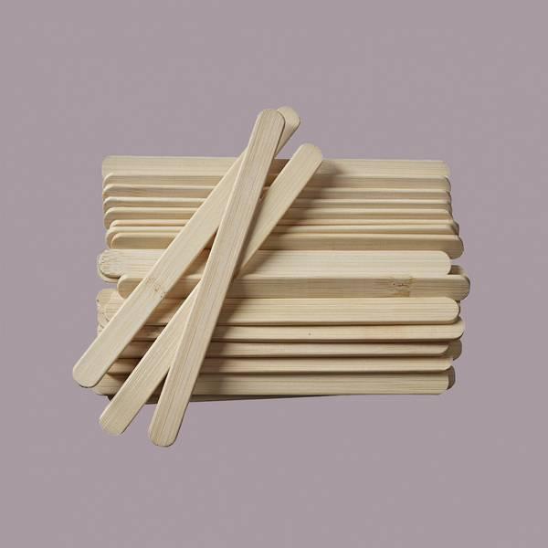Bilde av 24 stk ispinner i bambus / Pulito