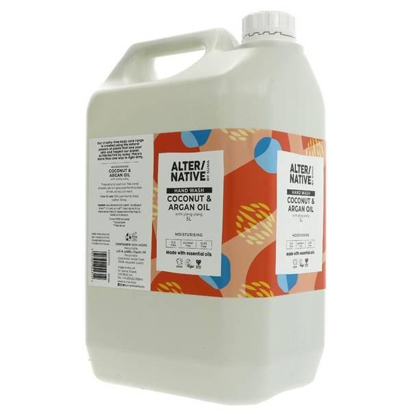 Bilde av 5L flytende håndsåpe Coconut & Argan Oil / Alter/native