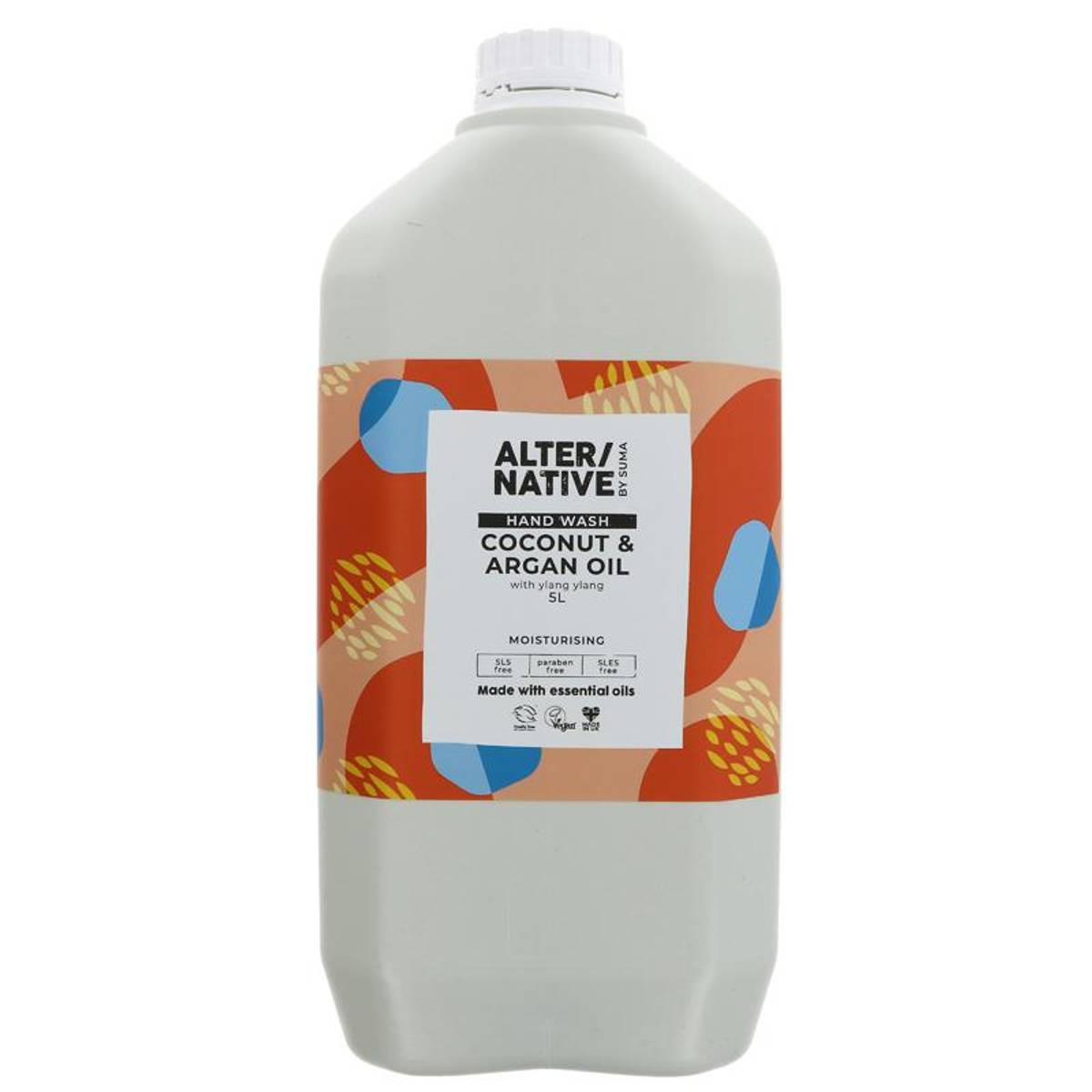 5L flytende håndsåpe Coconut & Argan Oil / Alter/native