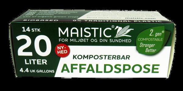 Bilde av Plastfrie søppelposer 20L, Maistic