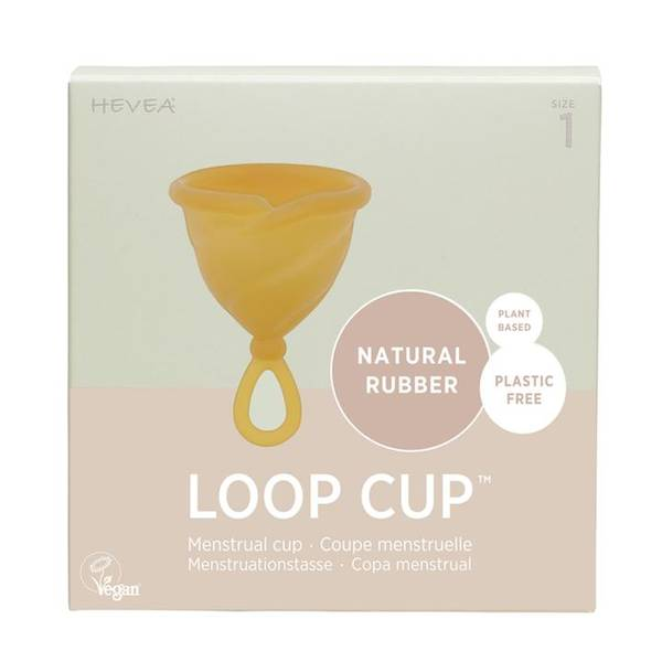 Bilde av LOOP CUP str.1, menskopp i naturgummi / Hevea