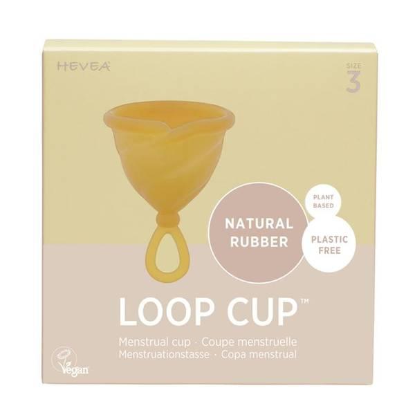 Bilde av LOOP CUP str.3, menskopp i naturgummi / Hevea