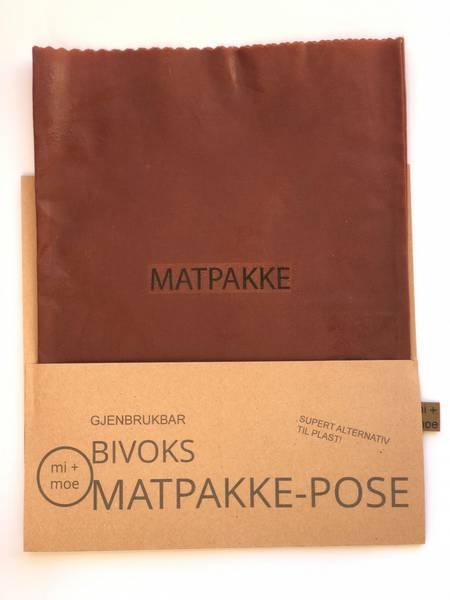 Bilde av Matpakkepose, Brun / Mi + Moe