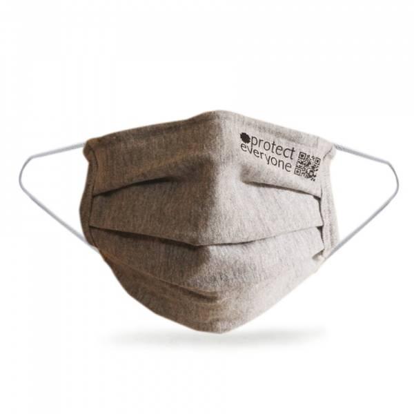 Bilde av Gjenbrukbart munnbind i økologisk bomull, GRÅ/ Ceae