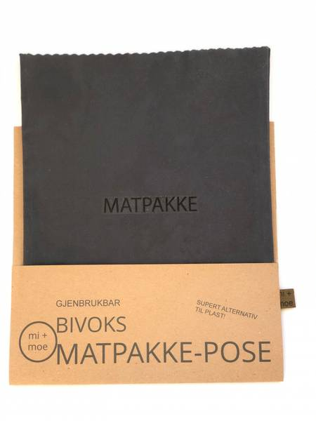 Bilde av Matpakkepose, Grå / Mi + Moe