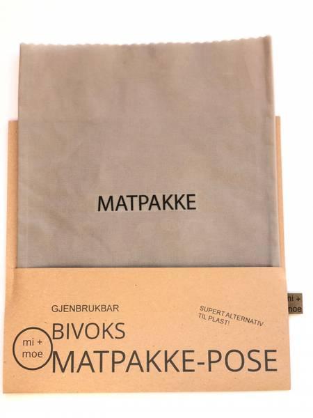 Bilde av Matpakkepose, Lys grå / Mi + Moe