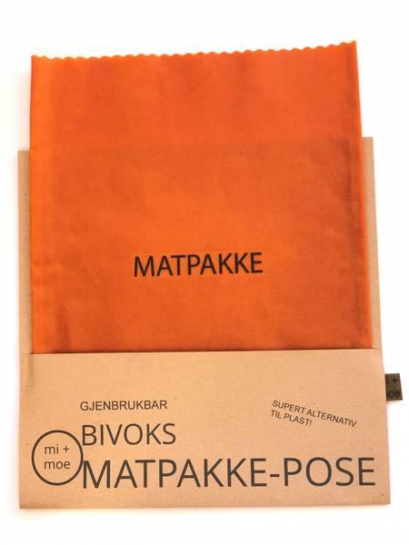 Bilde av Matpakkepose, Oransje / Mi + Moe
