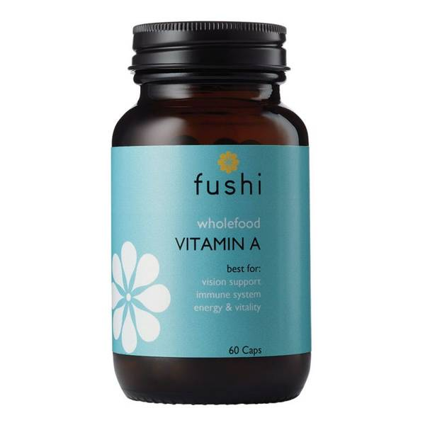 Bilde av Vitamin A , 60 kapsler / Fushi