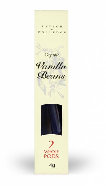 Bilde av Økologisk vaniljestang 2stk / Taylor & Colledge