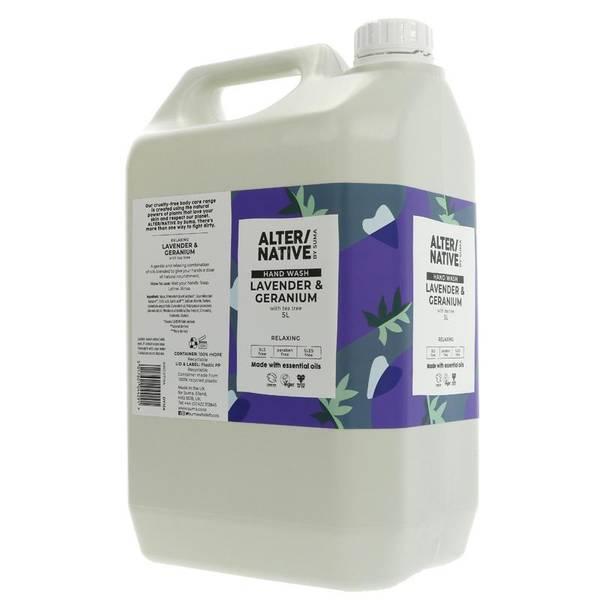 Bilde av 5L flytende dusjsåpe Lavender & Geranium / Alter/native