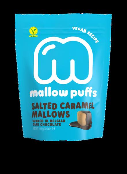 Bilde av Vegansk marshmallow, Salt Karamell 100g / Mallow Puffs