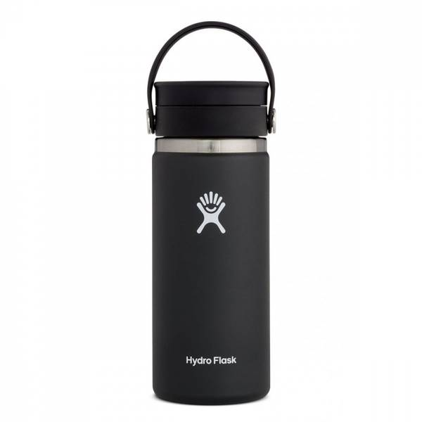 Bilde av Termokopp 473ml, BLACK, Wide Mouth Flex Sip Lip / Hydro Flask